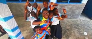Schuleröffnung in Kinshasa