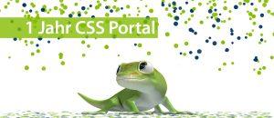 Wir feiern 1 Jahr CSS Portal